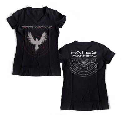 Tour 2018 V Neck Girlie | FATES WARNING Official Shop